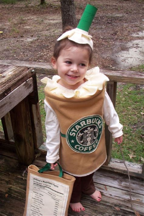KIDS: DIY Starbucks halloween costume   Really Awesome Costumes