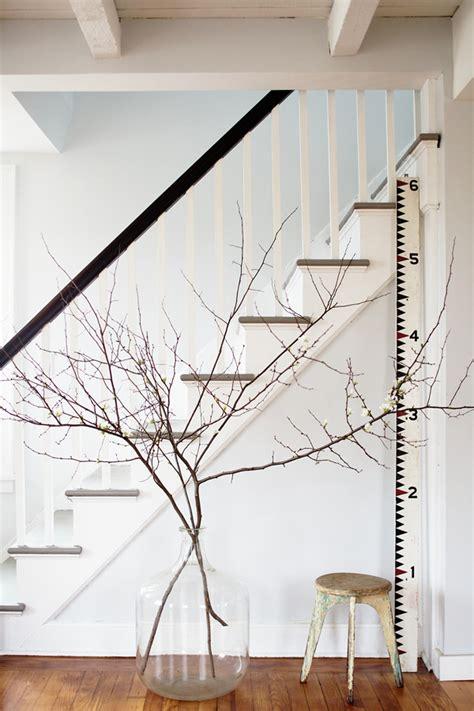 rami interior design decoration opta per una decorazione naturale i rami negli interni