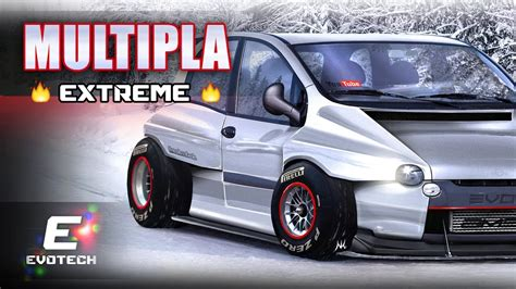 fiat multipla tuning fiat multipla extreme virtual tuning photoshop render