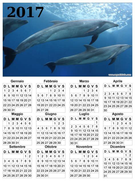 I Calendario 2017 Calendari Da Scaricare Con Foto 2017