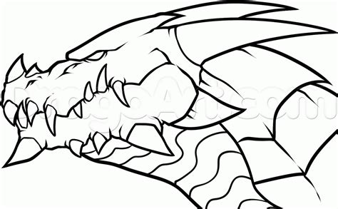 chinese dragon coloring pages easy easy fire breathing dragon head drawings coloring page