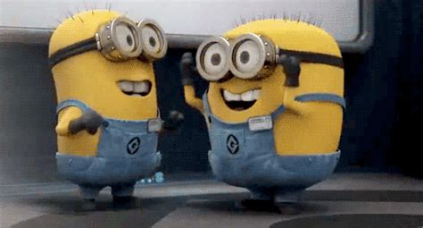 excited gif excited minions gif find on giphy
