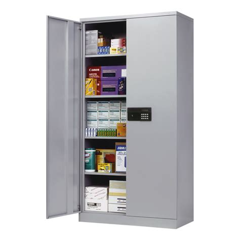 Electronics Storage Cabinet Sandusky Keyless Electronic Locking Storage Cabinet 36 Quot W X 24 Quot D X 78 Quot H At School Outfitters
