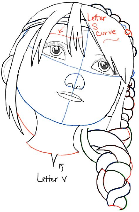 how to your to inside how to draw astrid from how to your 2 in simple step by step tutorial