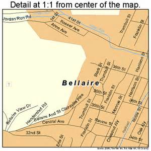 map of bellaire bellaire ohio map 3905074