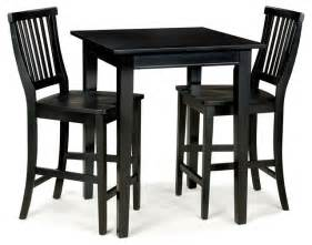 Square Bistro Table And Chairs 3 Pc Square Bistro Table Set Contemporary Indoor Pub And Bistro Sets By Shopladder