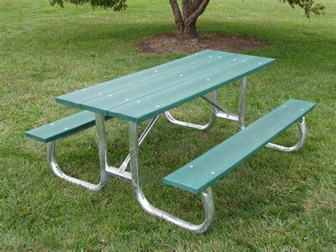 galvanized picnic table frame galvanized frame table