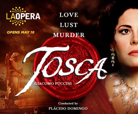 Juwita Set Tosca Lusianans tosca by giacomo puccini events 89 3 kpcc