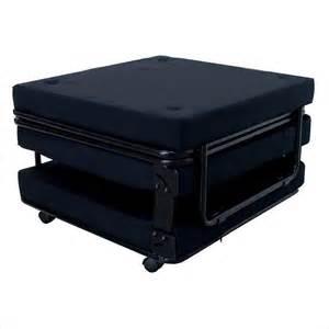 ameriwood convertable sleeper black ottoman ebay