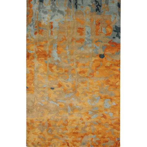 watercolor area rug home decorators collection watercolor gold 8 ft x 11 ft area rug 1057330530 the home depot