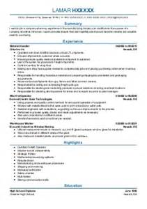 Dock Worker Resume Sle by Dock Worker Resume Sle Mfacourses476 Web Fc2