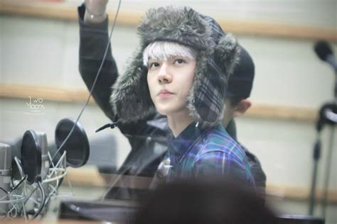 Sehun Postcard By Two Moons dl pic 140110 sehun at the radio open studio 6p