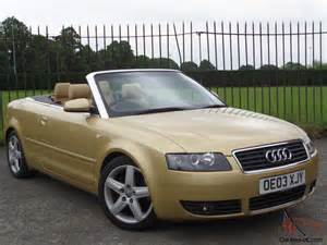audi a4 cabriolet sport 2 4 2003 03 2door convertible