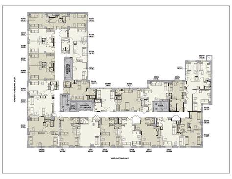 Carlyle Court Nyu Floor Plan Nyu Residence Halls