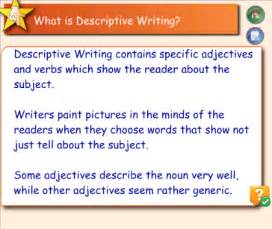 What Is Descriptive Essay Writing by Smart Exchange Usa Descriptive Writing