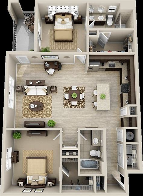 Two Bedroom House Interior Design 147 Modern House Plan Designs Free Modern House Plans House Plans Design And House