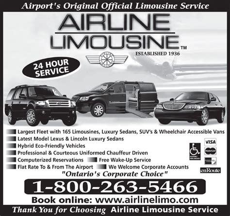 Airline Limousine airline limousine service canpages