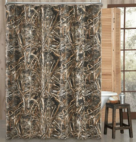Realtree Camo Bath Decor: Max 5 Realtree Shower Curtain