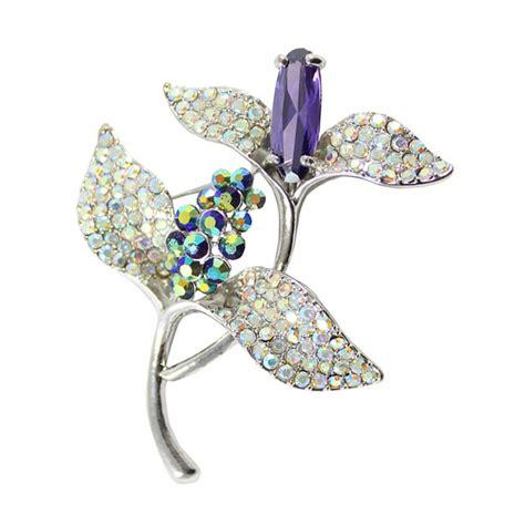 Bros Bross Jilbab Permata jual shine accessories bross daun mata silver