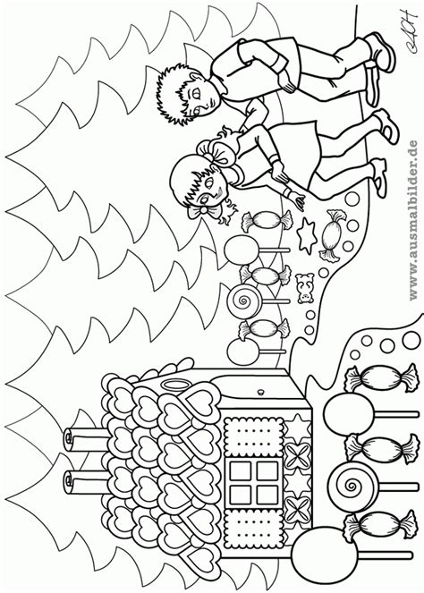 hansel and gretel coloring pages coloring home