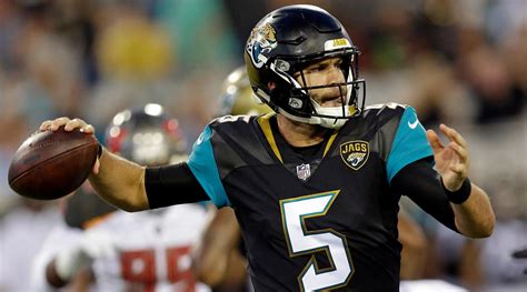 blake bortles blake bortles may lose job to chad henne jaguars