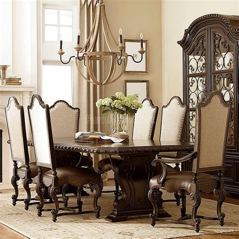 castella valencia dining room set w upholstered chairs