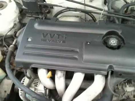 2000 Toyota Corolla Engine 2000 Toyota Corolla Le Engine Compartment