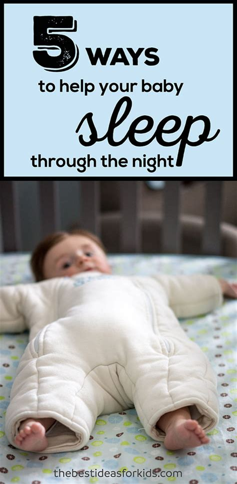 baby sleep through the how how to get baby to sleep through the