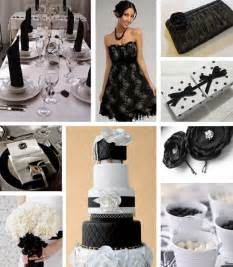 black and white wedding ideas choosing your wedding color combinations