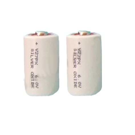 px27 6 volt silver oxide batteries 2 pack camera