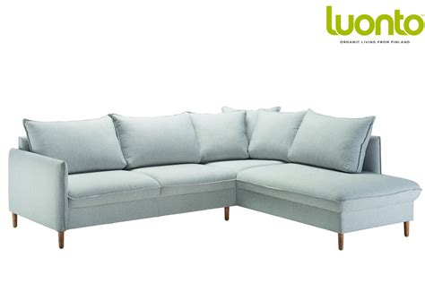 3 seater sofa bed chic 3 seater corner sofa bed from luonto