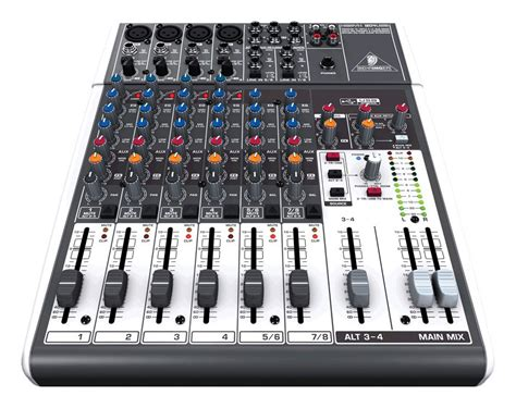 behringer xenyx 1204usb 12 channel mixer zzounds