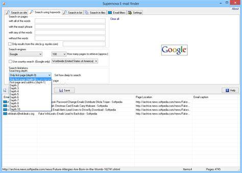 email finder supernova email finder download