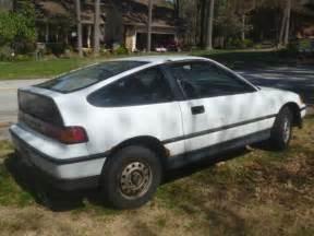 1991 Honda Crx Hf Specs 1991 Honda Crx Hf 5 Speed Manual White 1 Owner No