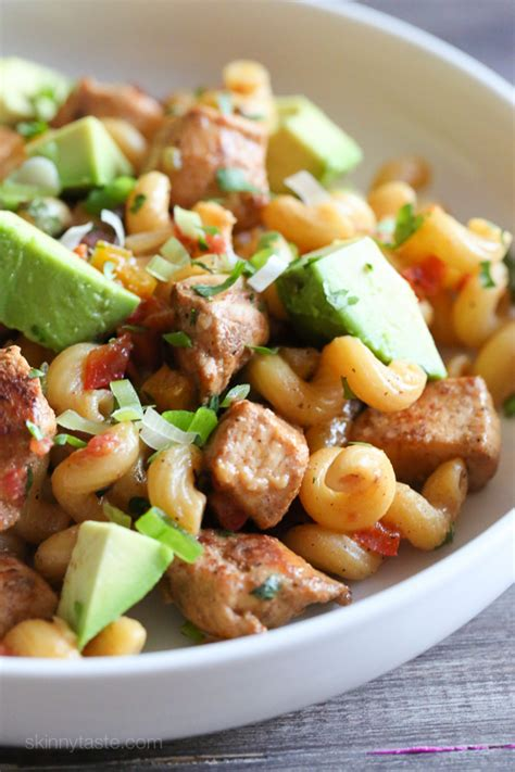 delicious pasta salad with avocado dressing maya kitchenette healthy eating archives restaurant supply restaurant