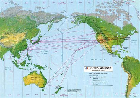 united route map pan am 30 yıl 214 nce pasifik hatlarını devretmişti havayolu 101