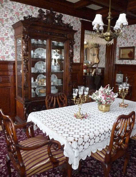 Pennsylvania House Dining Room Furniture 1900 Home Interiors Restored Restored Queen Anne
