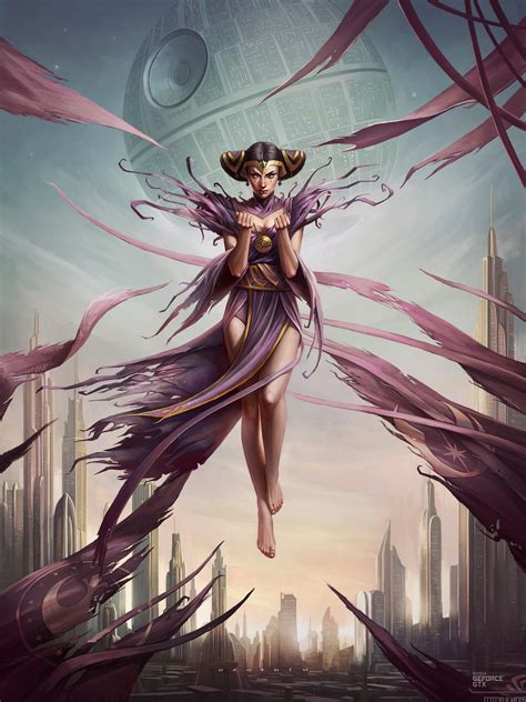 wallpaper illustration fantasy art anime sky magic