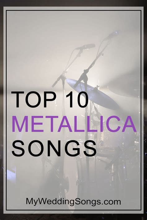 Best Metallica Songs Top 10 All Time List