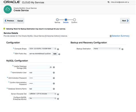 oracle tutorial for mysql users mysql innodb cluster in oracle public cloud a tutorial
