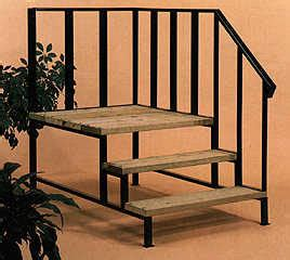 mobile home stairs mobile home stairs 12 steel 1 grade decking
