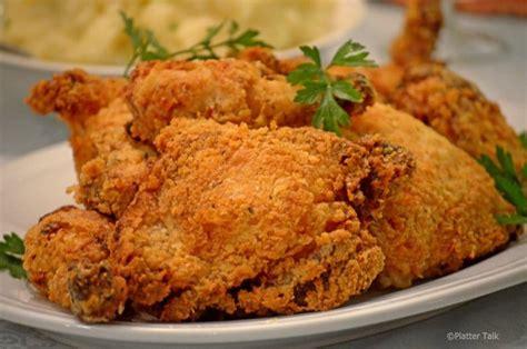 oven fried buttermilk chicken platter talk