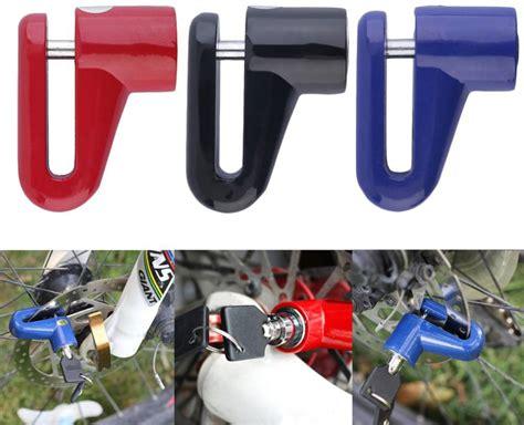 Gembok Dan Kunci kunci cakram motor anti maling lindungi motor anda dari