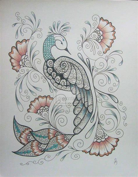6 Drawing Media by Pencil Drawings Of Peacocks Www Pixshark Images