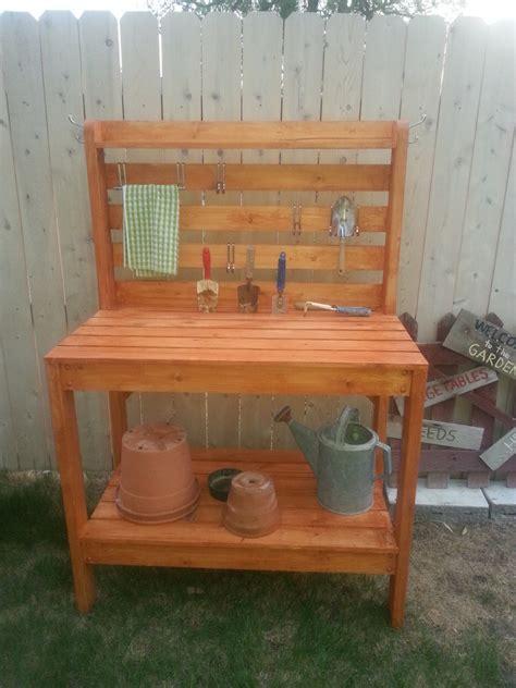 ana white ryobination potting bench diy projects