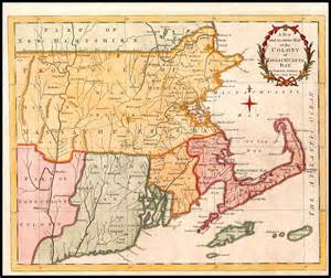 Massachusetts Bay Colony Map by A New And Accurate Map Of The Colony Of Massachusets Bay