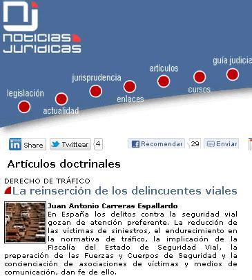 articulos doctrinales noticias jurdicas noticias jur 237 dicas publica 171 la reinserci 243 n de los