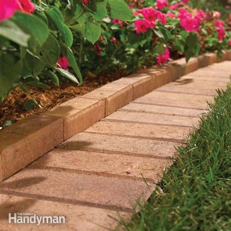 brick patio edging brick paver edging