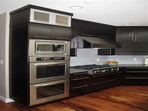 Ideas For Galley Kitchens apartment kitchen remodel vintage double wall ovens