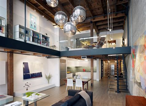 Sf Interior Design by Beautiful Loft Interior Design In San Francisco